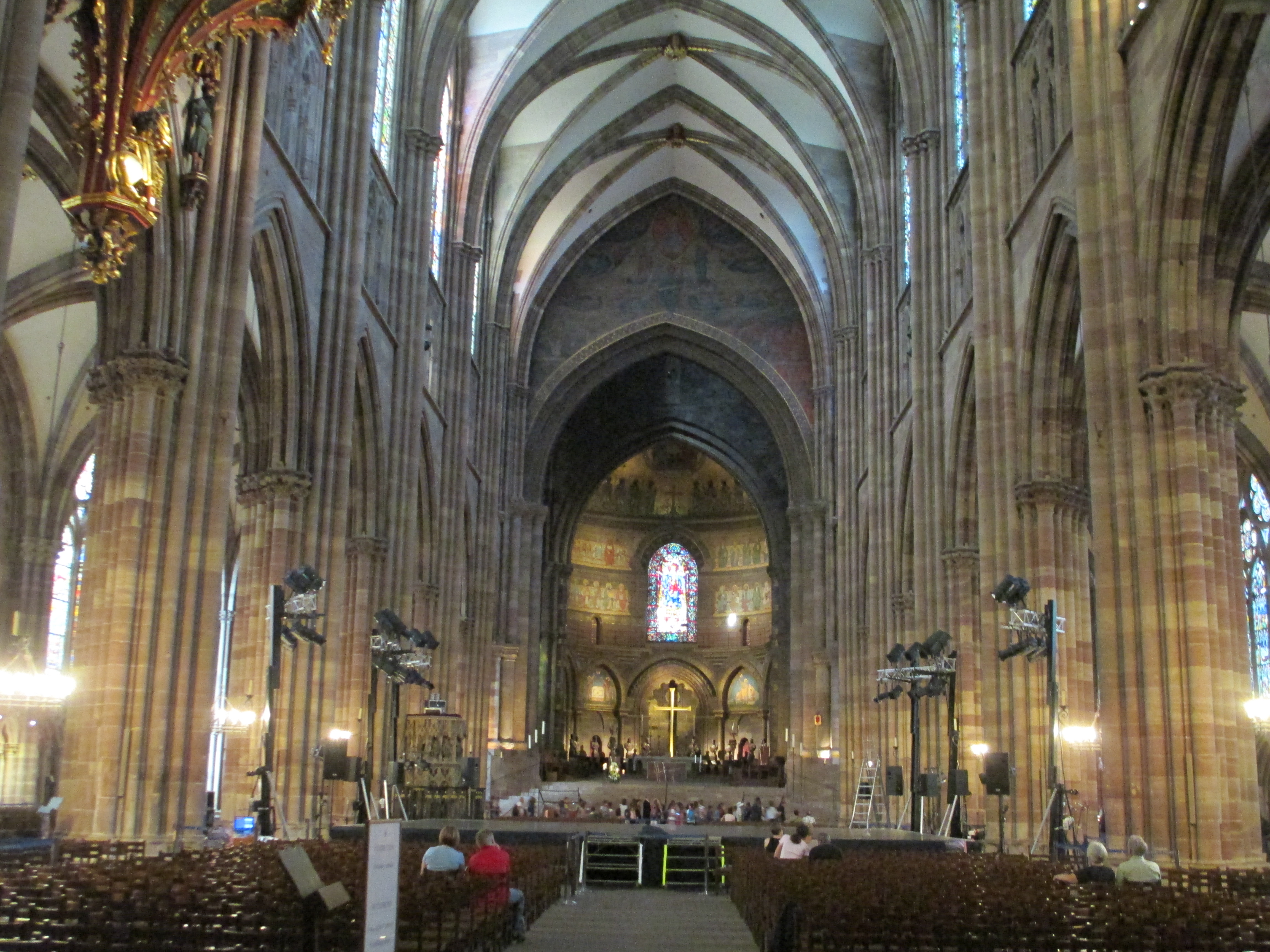 File choir architecture of cath drale notre dame for K architecture strasbourg