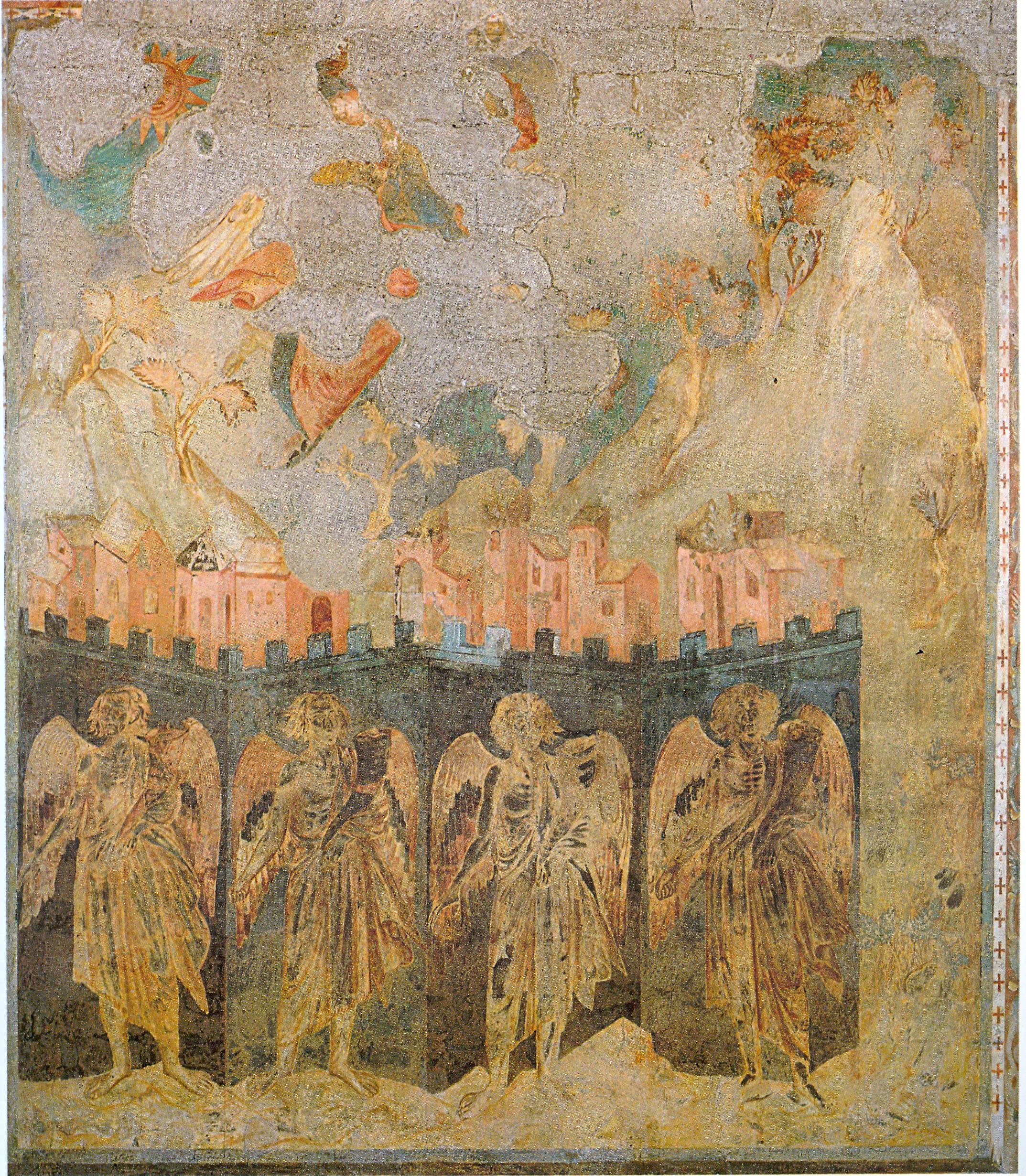 Visione degli angeli ai quattro angoli della terra