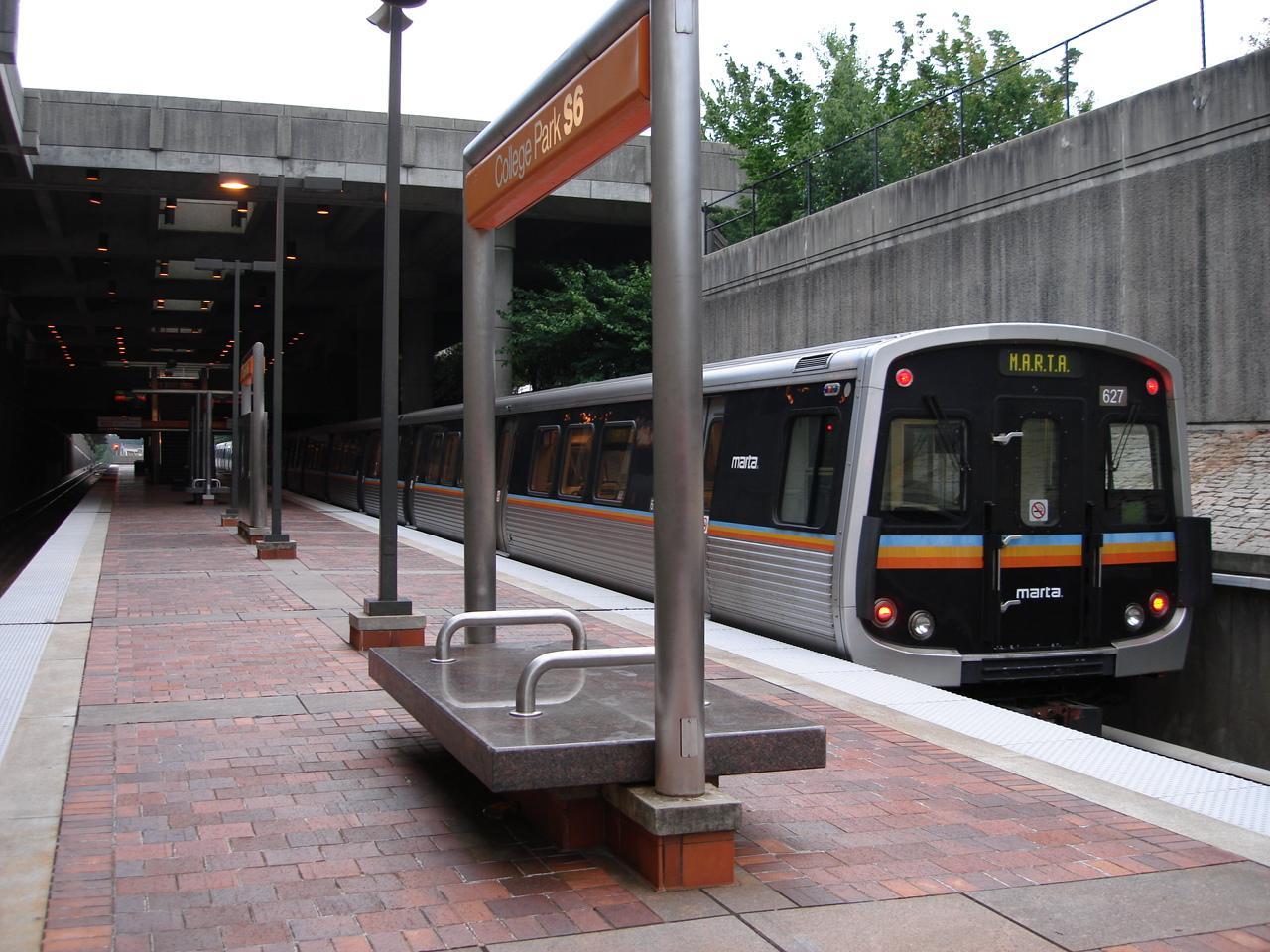 Park College Station College Park Marta Station.jpg