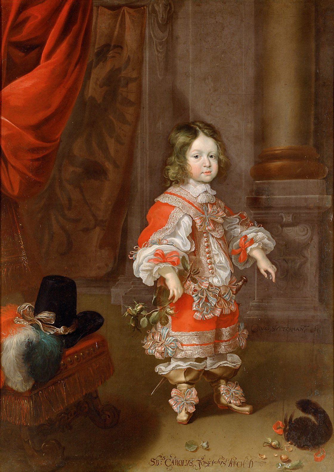 https://upload.wikimedia.org/wikipedia/commons/2/2f/Cornelis_Sustermans_-_Archduke_Charles_Joseph_%281649-1664%29_with_squirrel%2C_aged_four_to_five_years.jpg