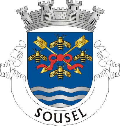 Fitxer:Crest of Sousel municipality (Portugal).png
