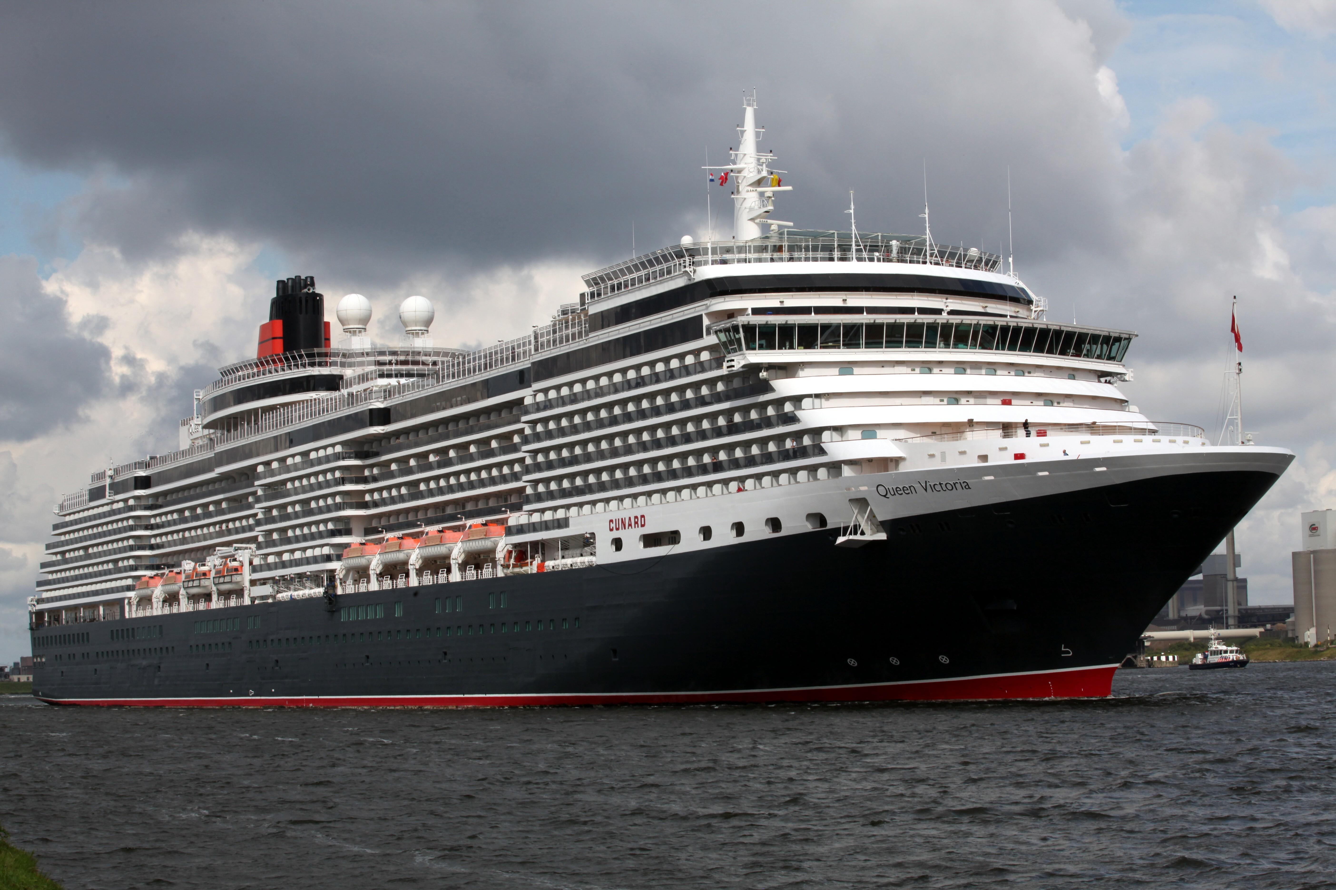 FileCunard MS Queen Victoria Southampton 1jpg