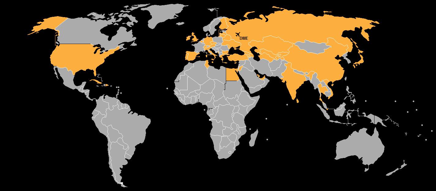 схема развязки аэропорт домодедово