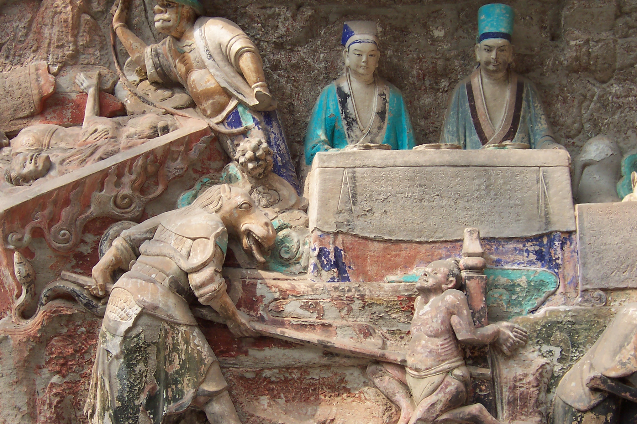 File dazu rock carvings baoding demons g wikimedia