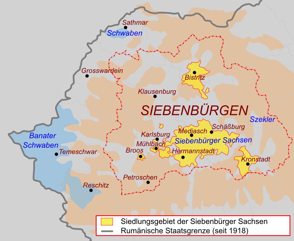Siebenbürgisch Sächsisch Wikipedia