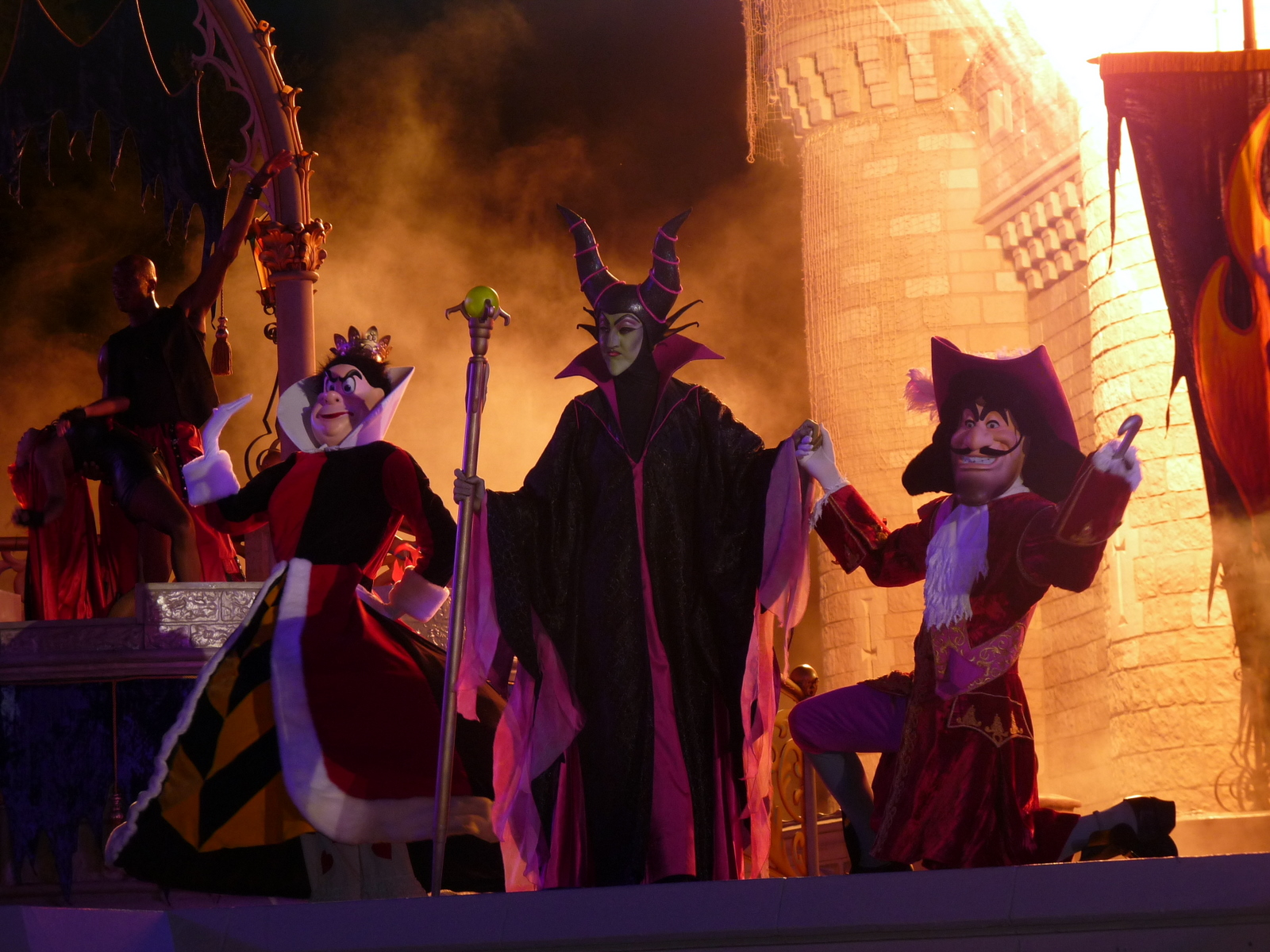 File:Disney Villains at Mickey's Not So Scary Halloween Party 2009 ...