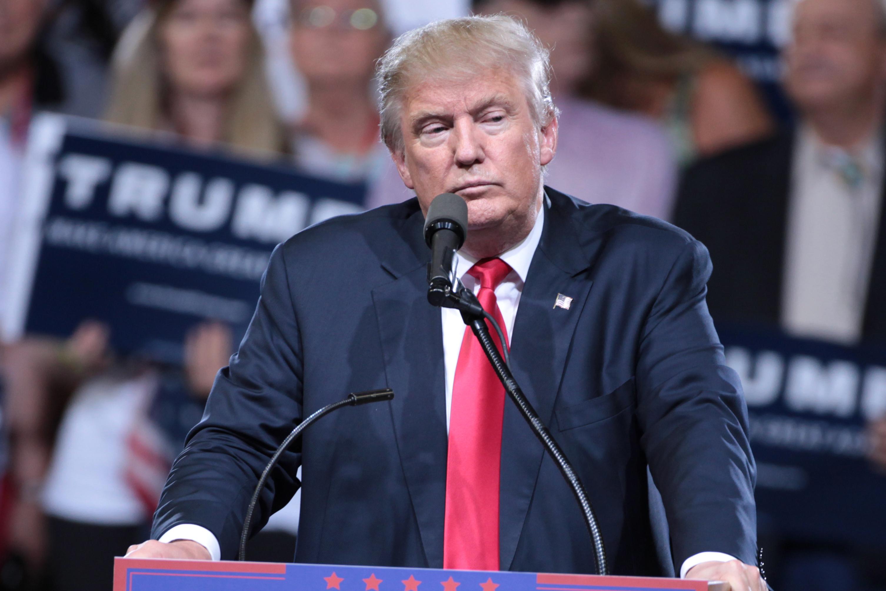 Donald Trump set fra elfenbenstårnet