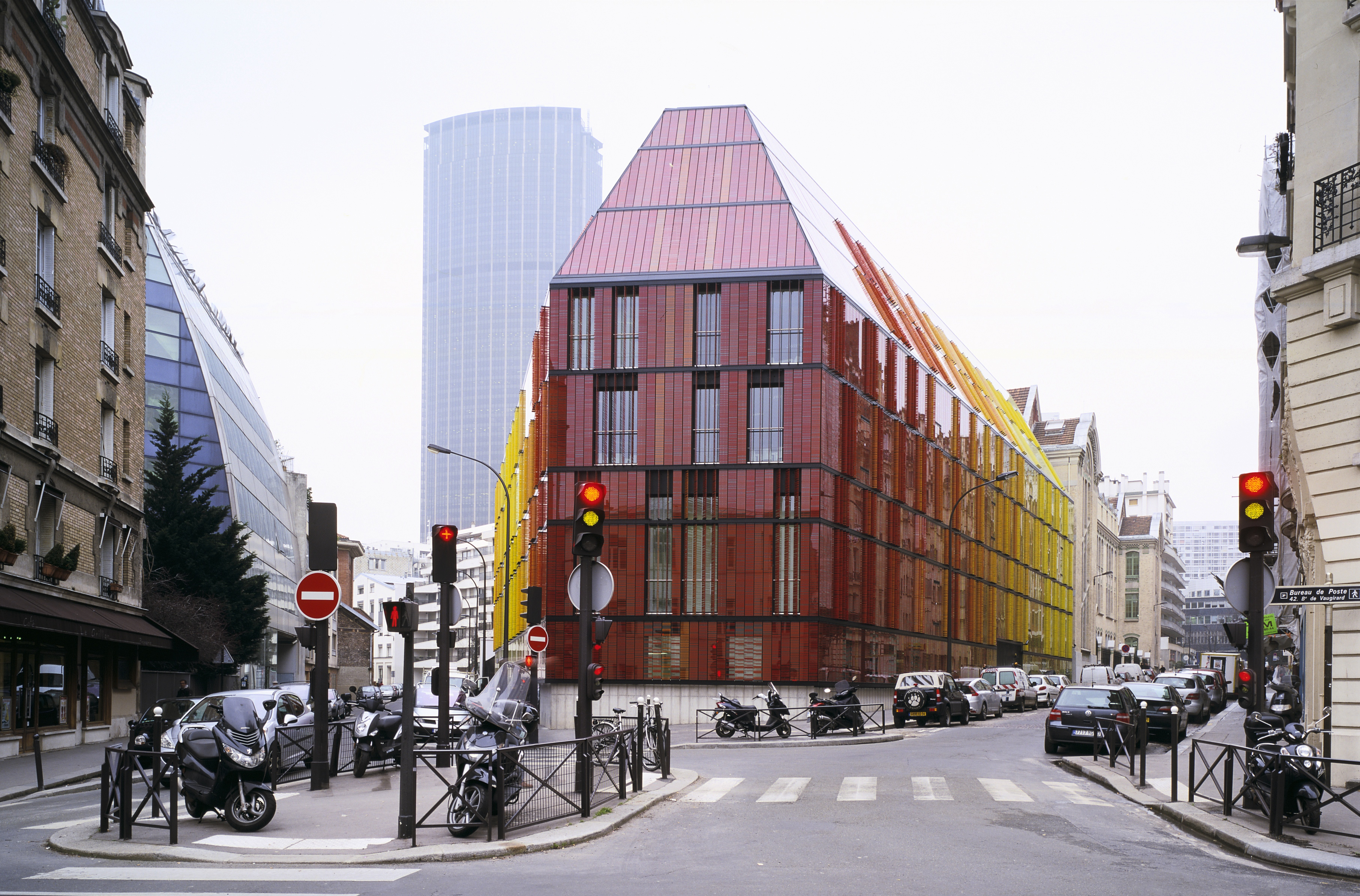 File ecole advancia à paris par architecture studio g
