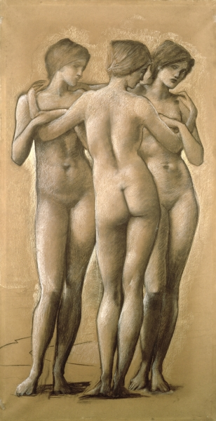 Edward Burne-Jones - The Three Graces, 1885