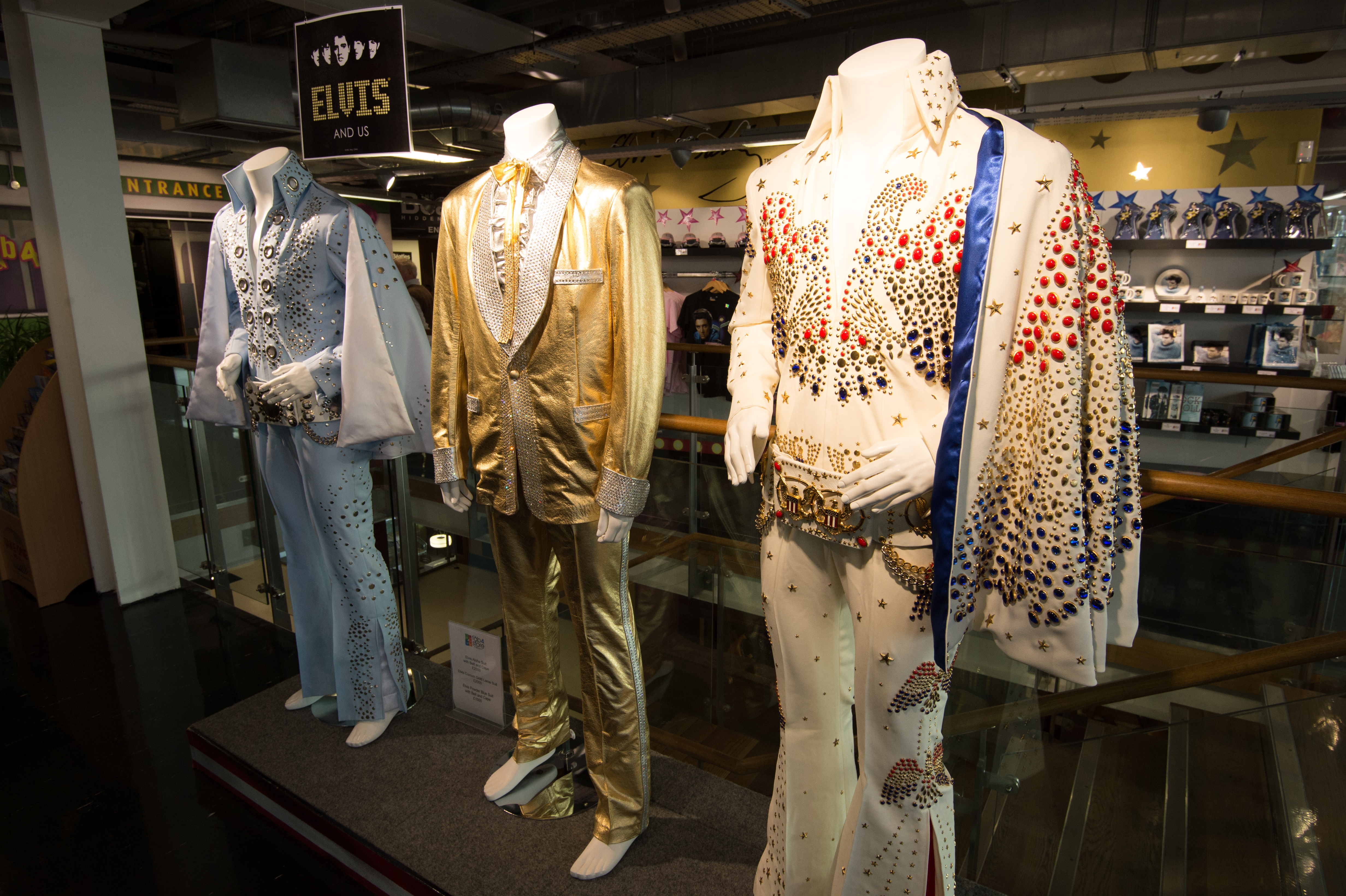 Elvis Presley s Costumes The Beatles Story 2012 12 30