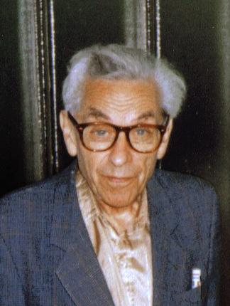 Paul Erdős at a student seminar in Budapest (Fall 1992)
