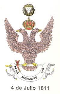 Emblema del Supremo Consejo del Grado 33 del Rito Escocés Antiguo y Aceptado para España
