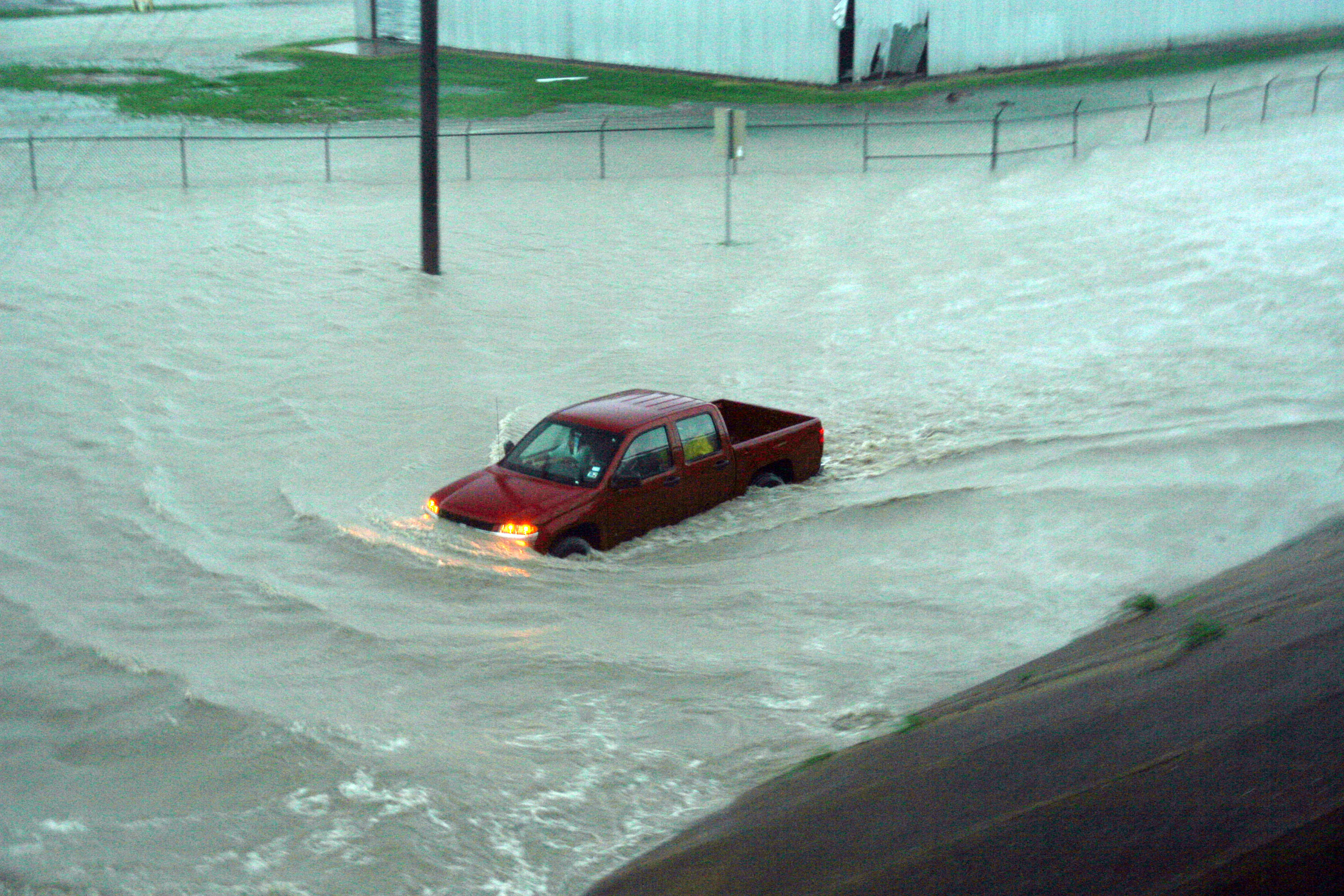 Flooding In Padre Island