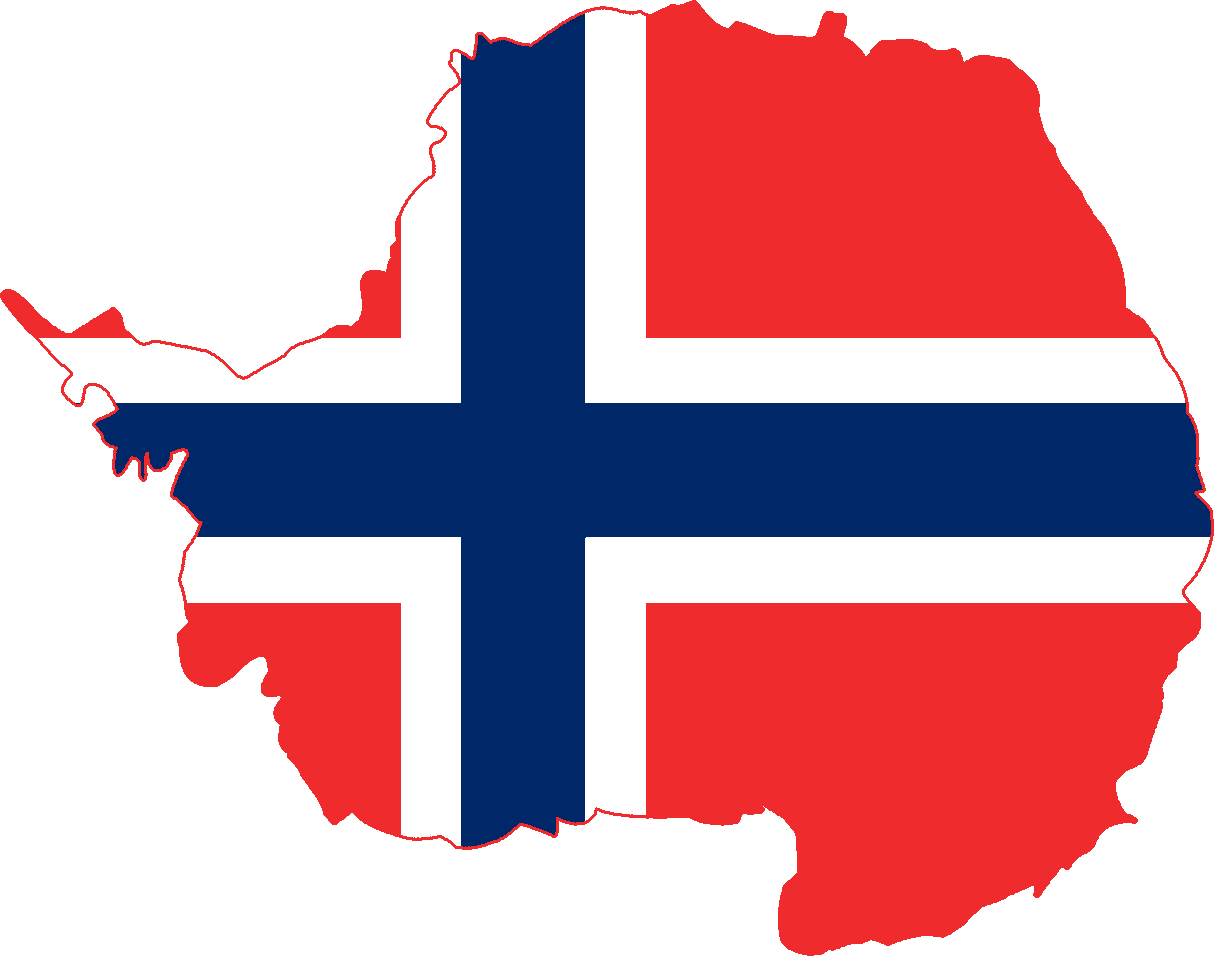 FileFlag Map Of Antarctica Norwaypng Wikimedia Commons - Norway map and flag