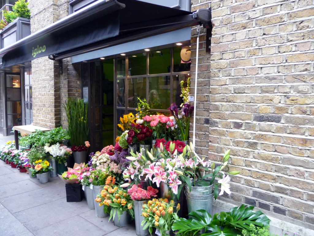 File Flower Shop Shad Thames London SE1 geograph