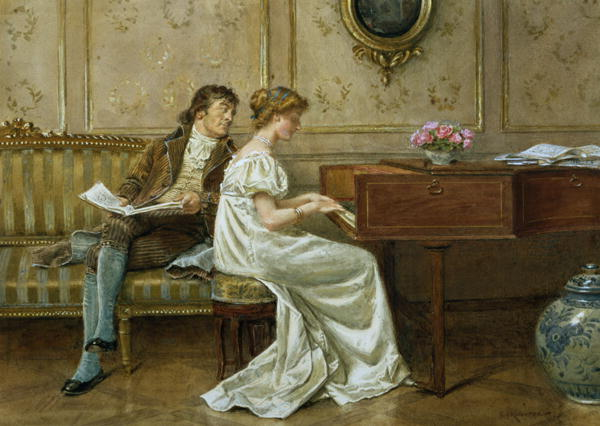 Famous Piano Paintings