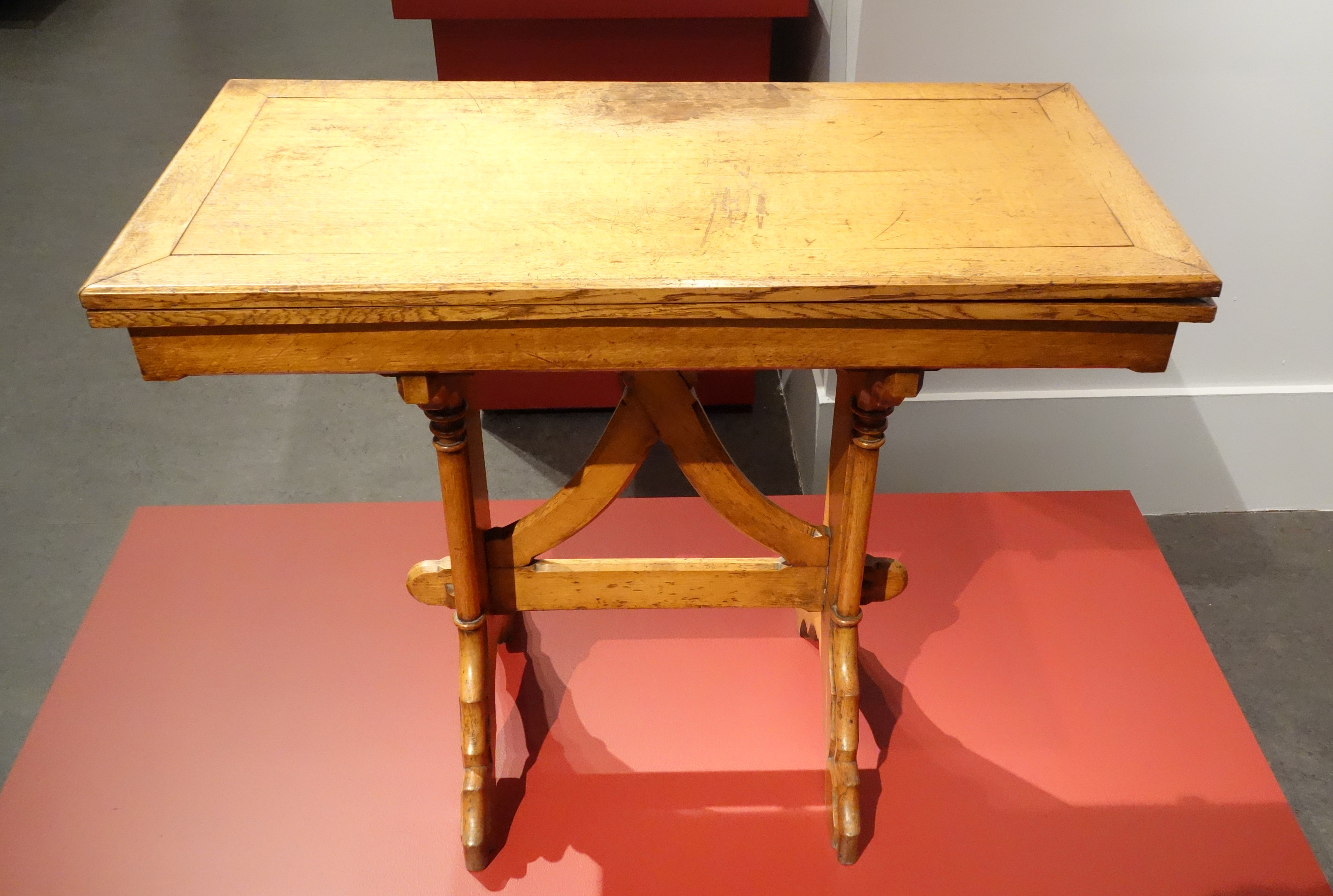 File Gaming Table By Unknown Maker In The Style Of Augustus Welby  # Augustus Pugin Muebles