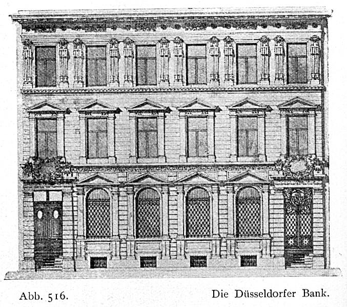 file geb ude der d sseldorfer volksbank sp ter. Black Bedroom Furniture Sets. Home Design Ideas