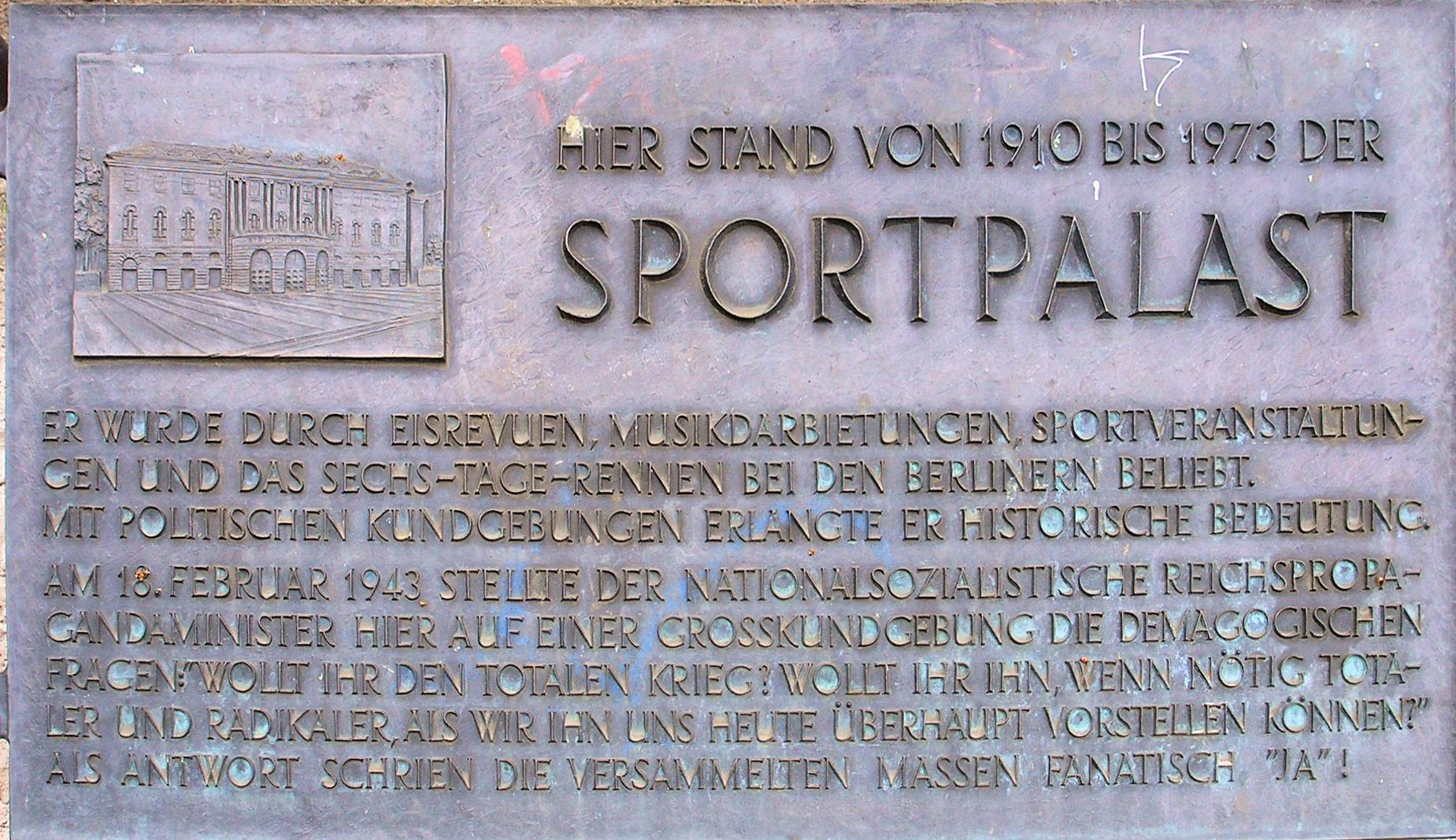 Berliner Sportpalast –