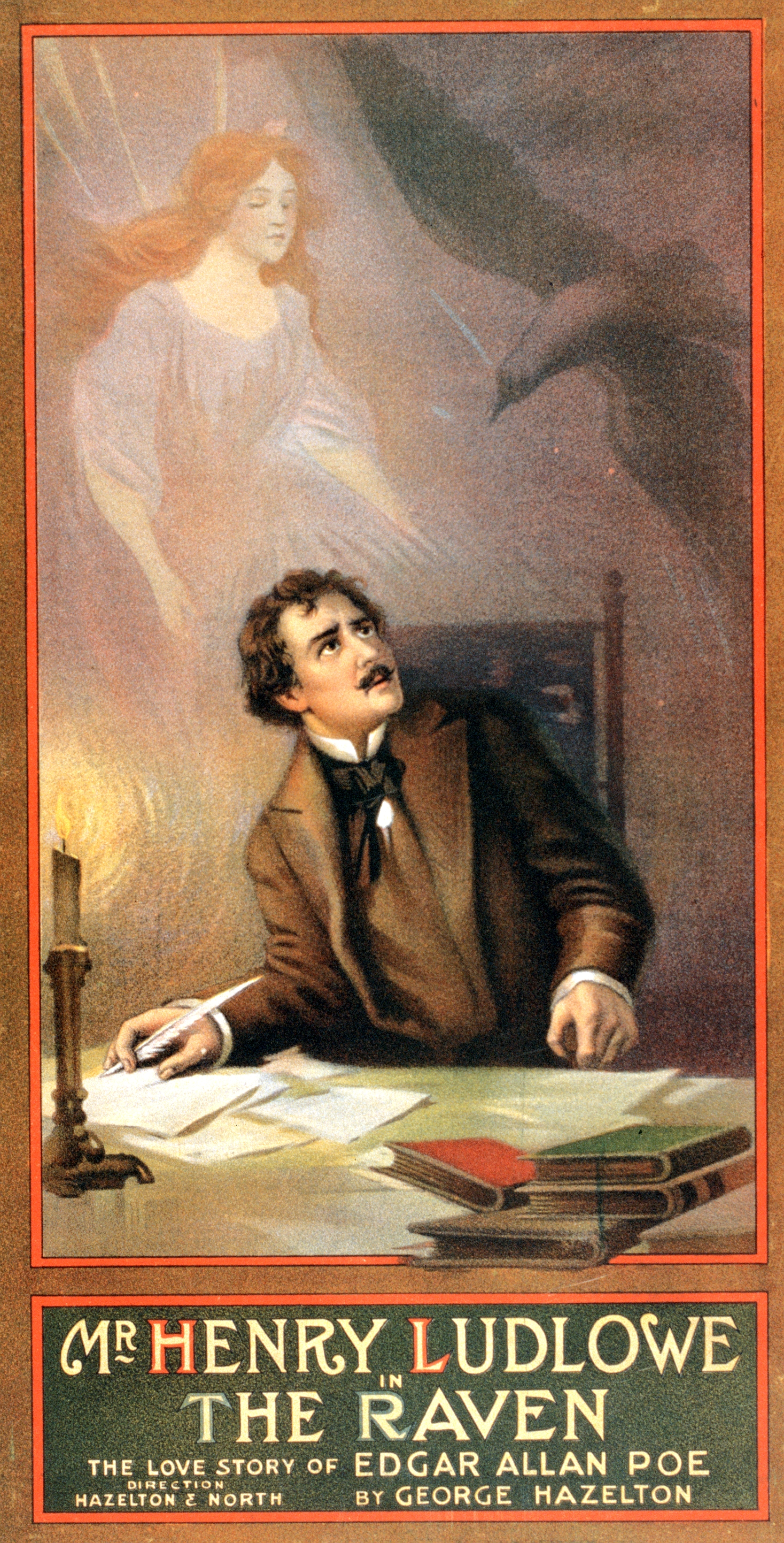 dark romanticism in the short stories the raven and the masque of red death by edgar allan poe