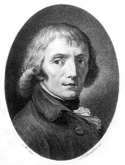 Giuseppe Parini, in a lithograph by Rosaspina.