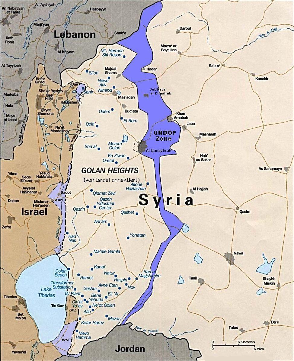 Enfrentamiento de los Altos del Golán