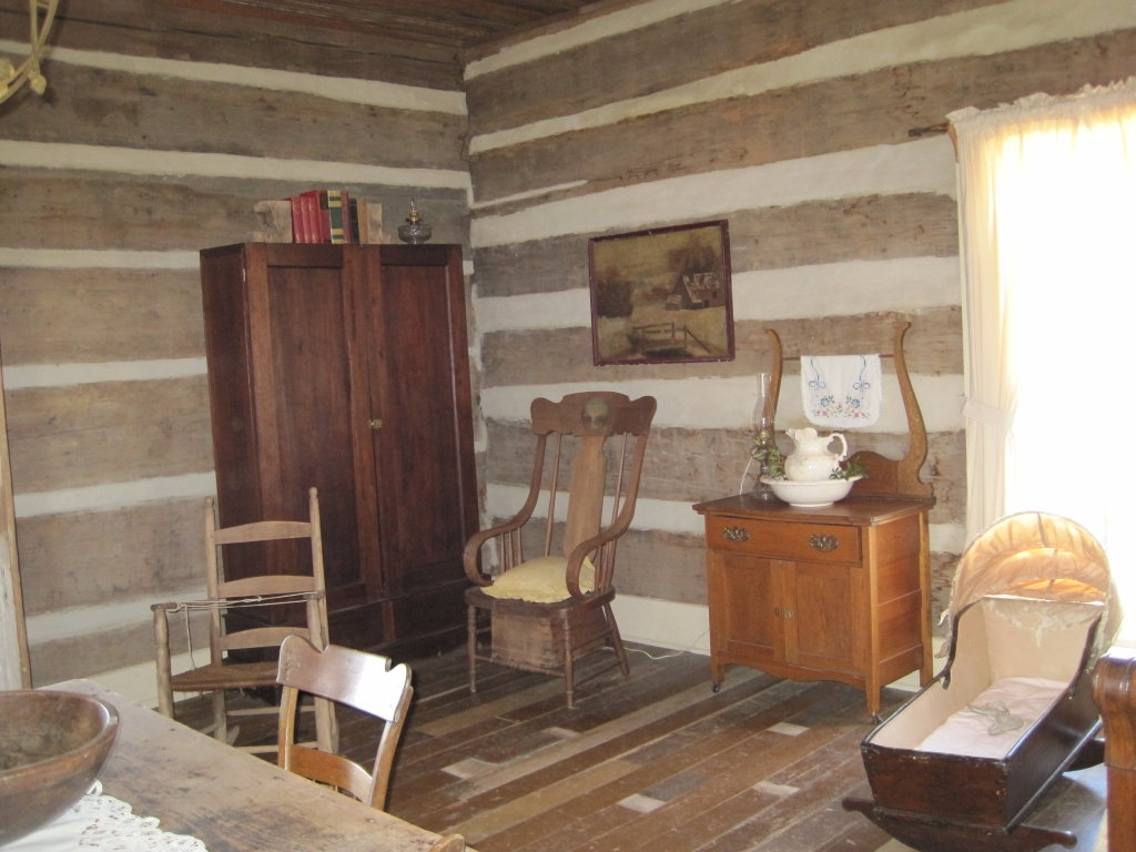file green frog village bells tn 22 log cabin interior jpg