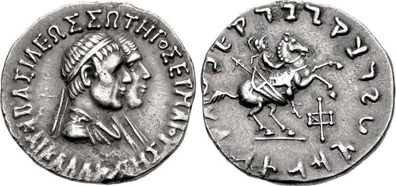 hermaios and kalliope with hypostratos on horseback 105 bce.jpg