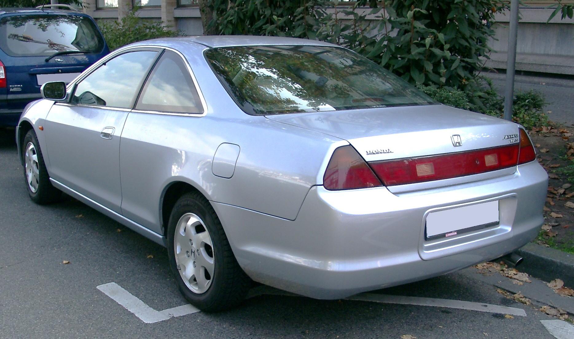 File Honda Accord Coupe Rear 20071009 Jpg Wikimedia Commons