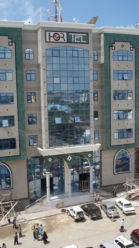 Hormuud Telecom is one of many firms with headquarters in Mogadishu. Hormuud.jpg