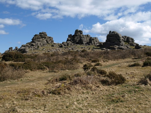 Hound Tor - geograph.org.uk - 1232810