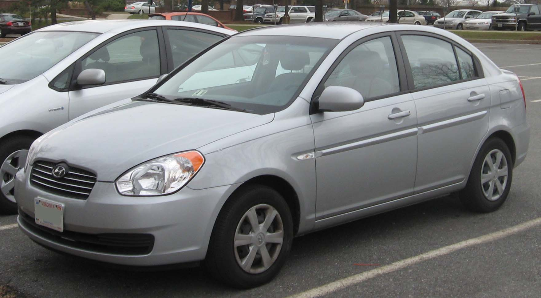 File Hyundai Accent Gls Sedan Jpg Wikimedia Commons