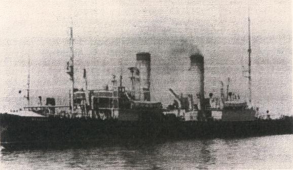 The icebreaker Lenin, former St. Alexander Nevsky