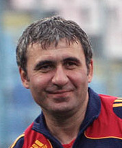 The 53-year old son of father (?) and mother(?) Hagi in 2018 photo. Hagi earned a  million dollar salary - leaving the net worth at 2 million in 2018