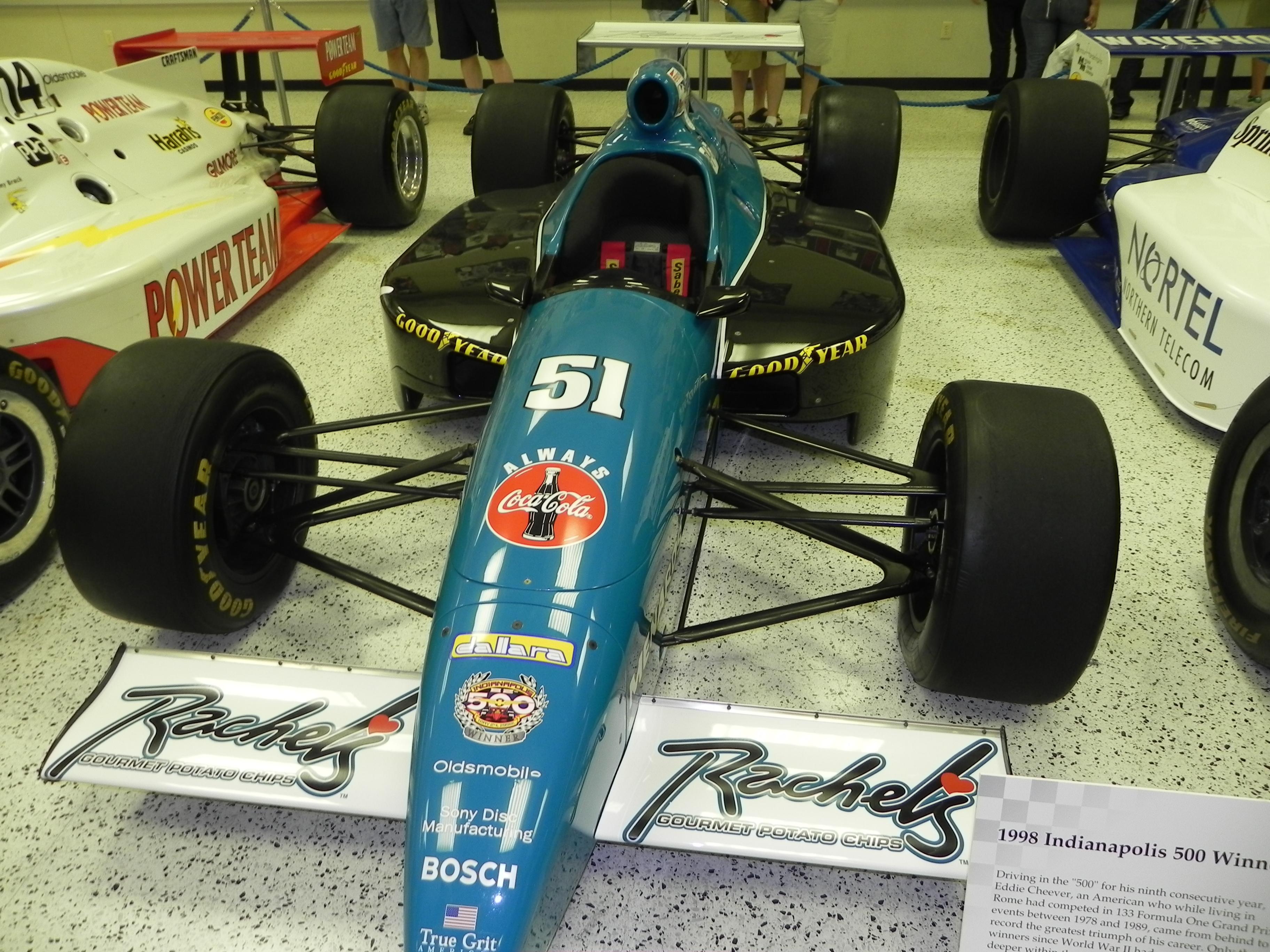 Lyn St. James 9th at Indianapolis 500