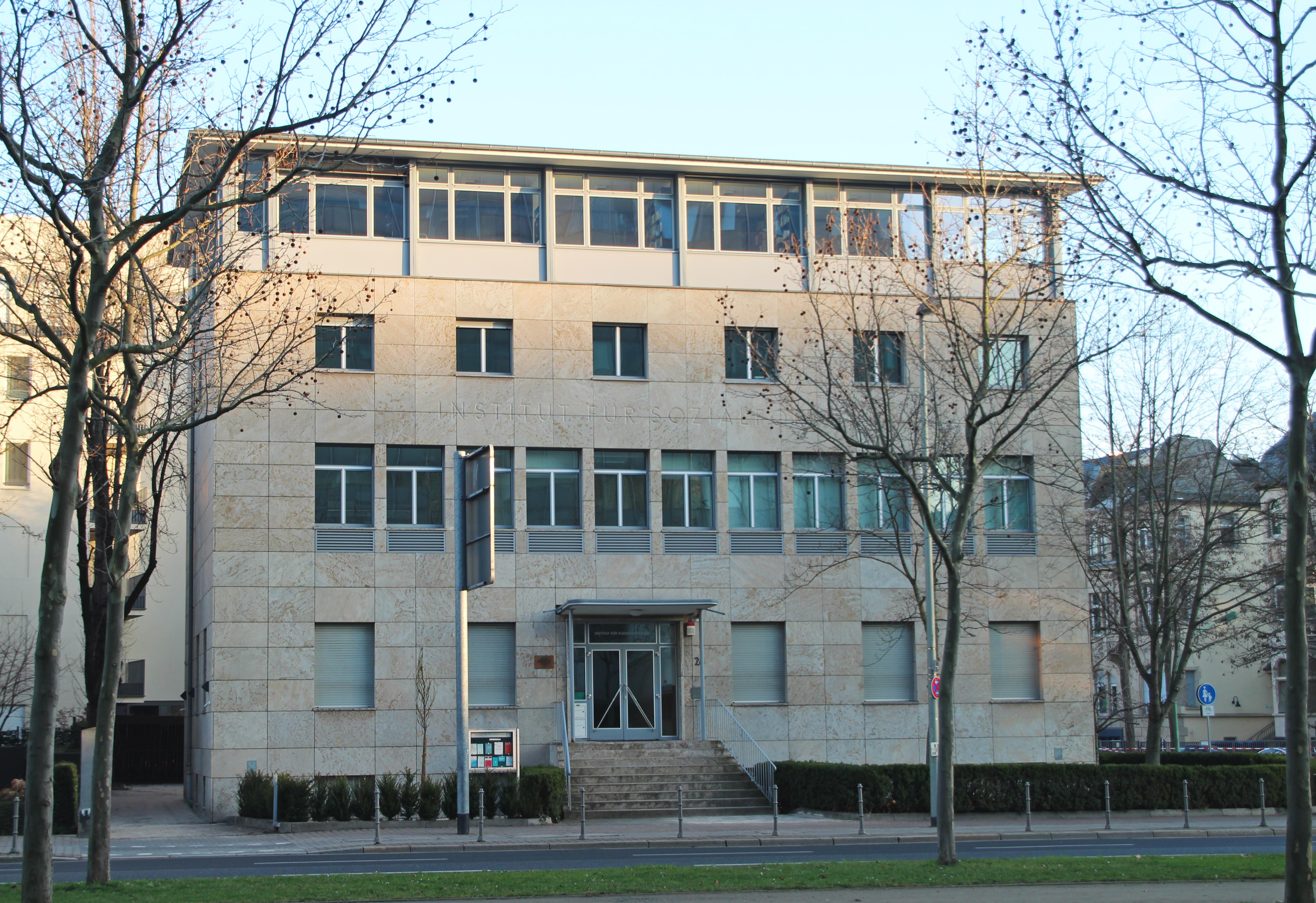 Frankfurt School (Institut fuer Sozialforschung)