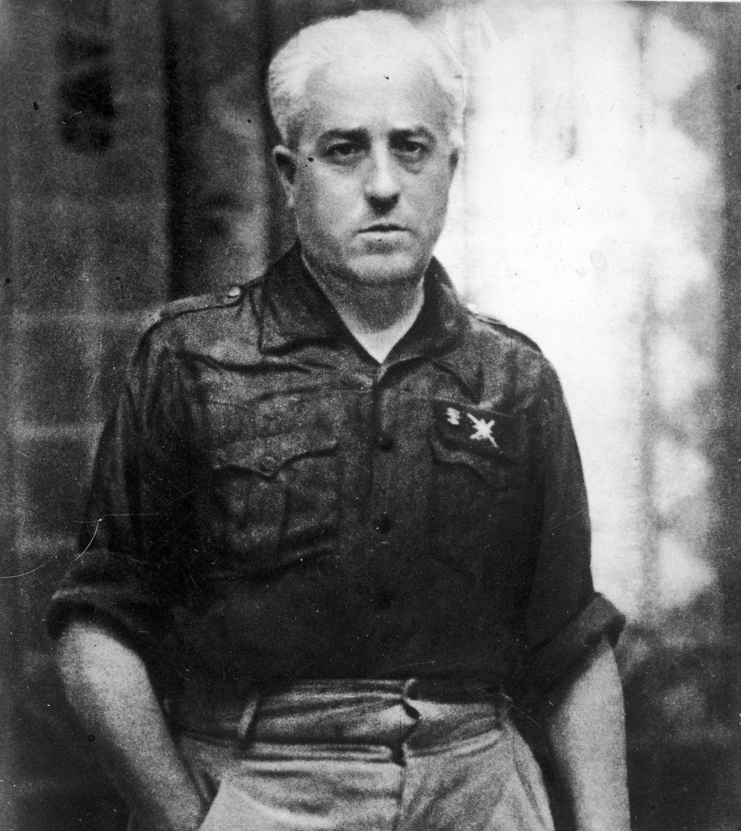 Retrato del general Juan Yagüe.
