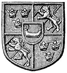 Karl Knutssons (Bonde) vapen (i rikssigillet 1448).png