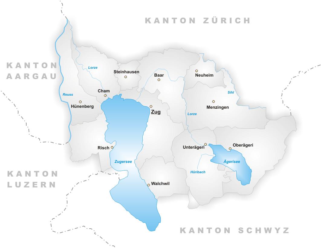Кантон Цуг (Zug)