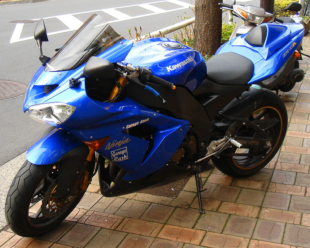 Present Kawasaki Ninja Blue Special Edition Motorcycle Fairings