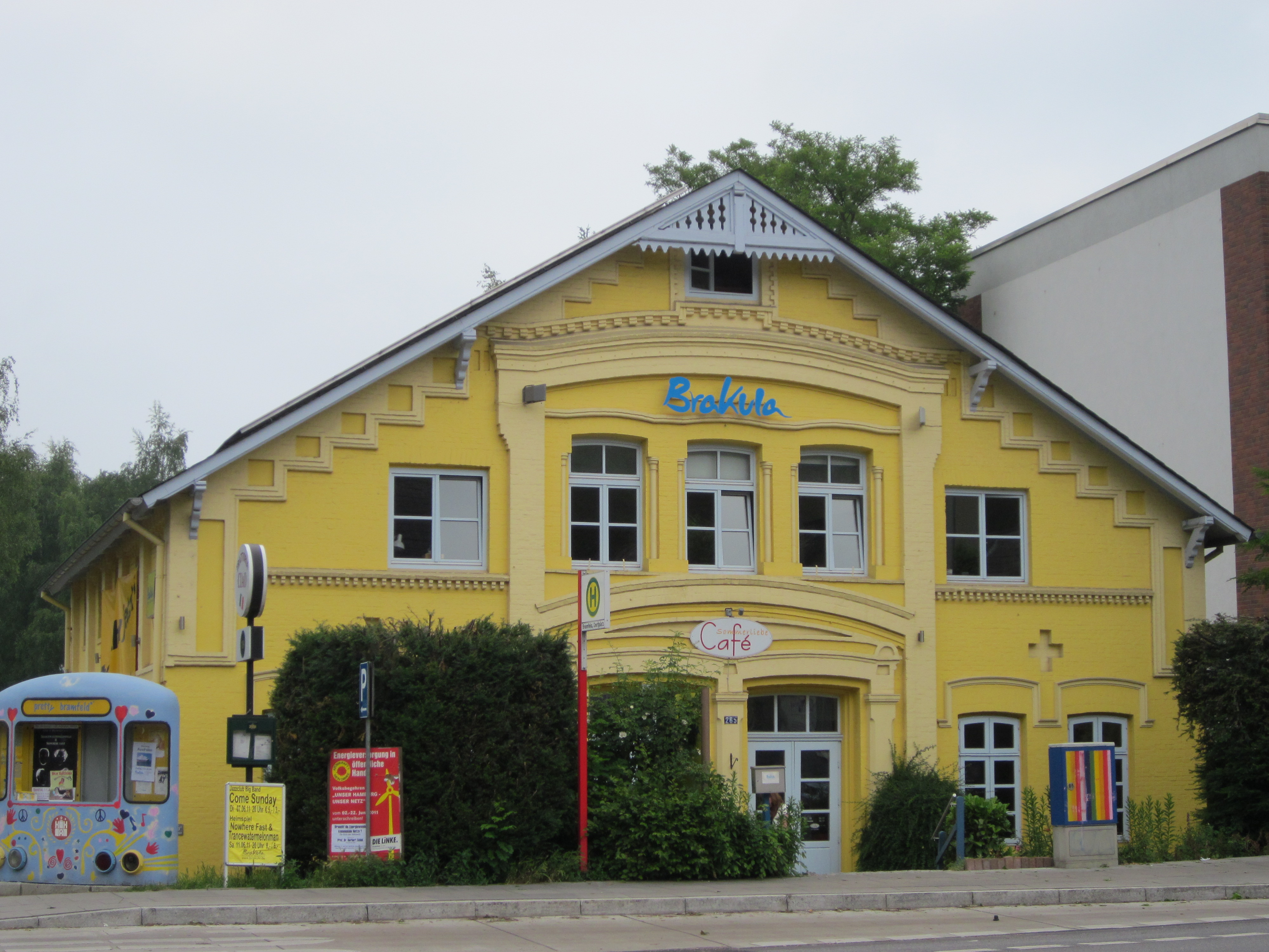 Datei Kulturzentrum Brakula In Der Bramfelder Chaussee In
