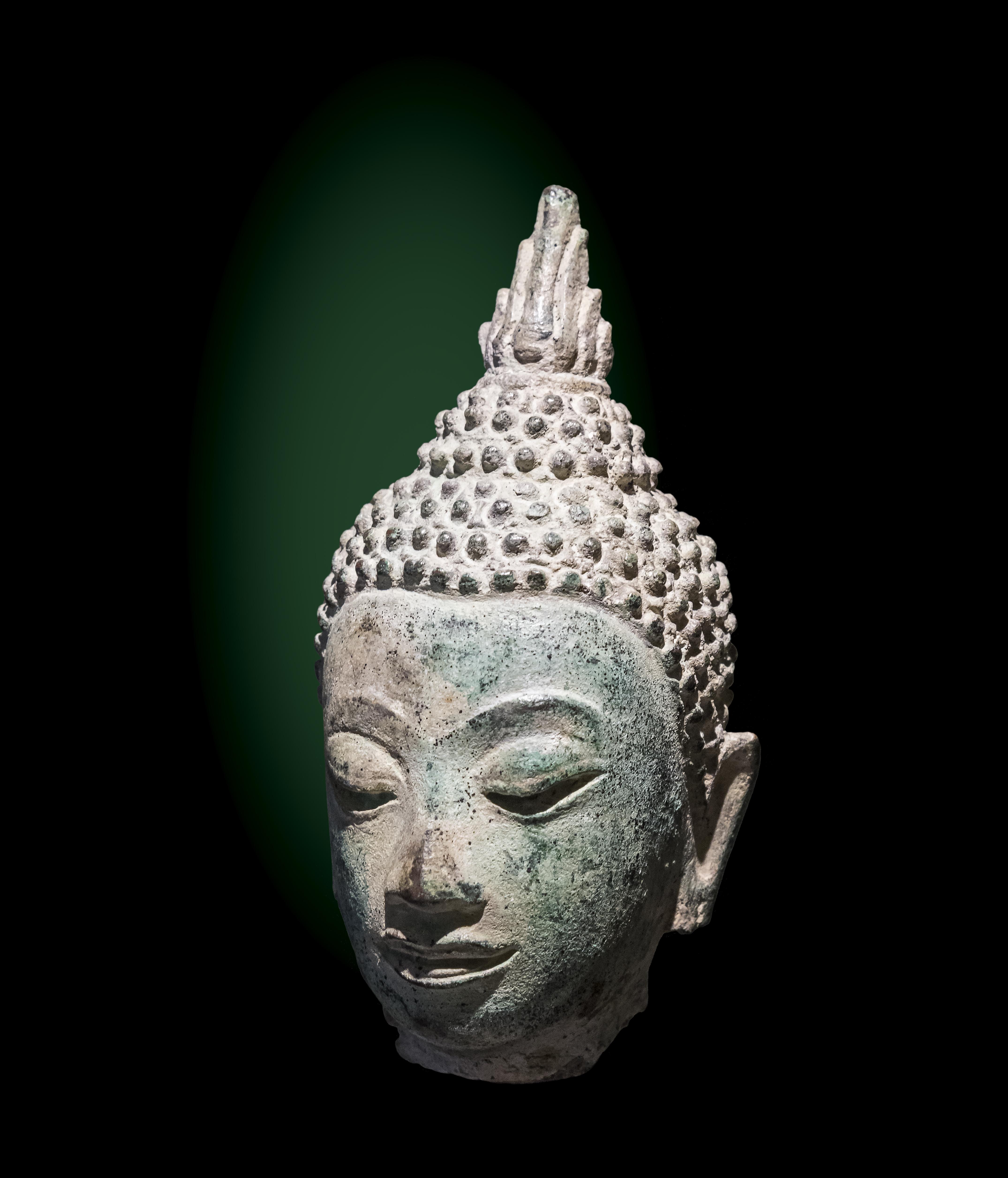 file labit t te de bouddha ecole de sukhothai tha lande. Black Bedroom Furniture Sets. Home Design Ideas