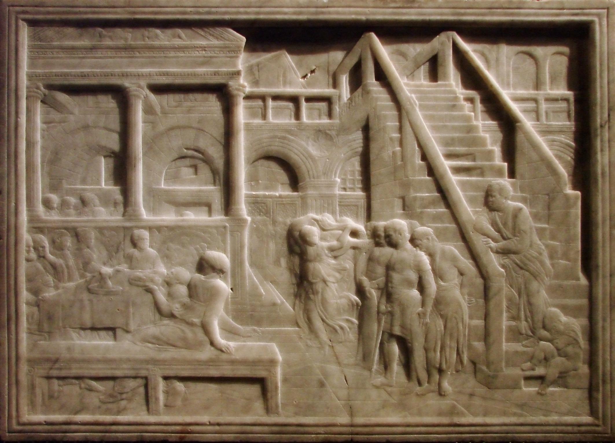 Portail Des Flandres Salome le festin d'hérode (lille) — wikipédia