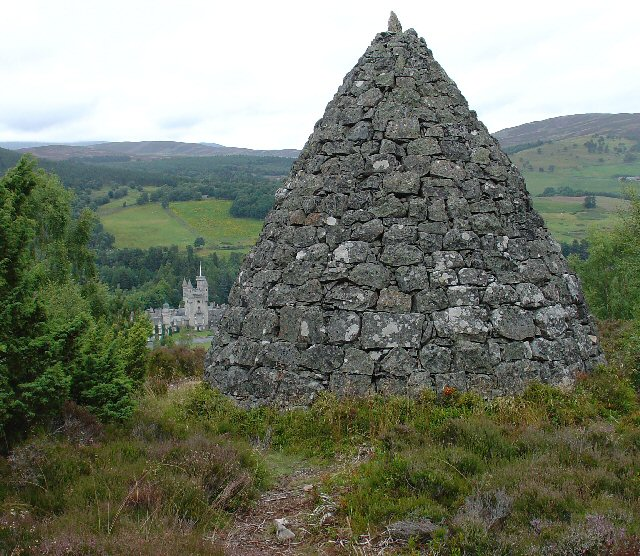 Leopolds Cairn, Balmoral Estate - geograph.org.uk - 36258