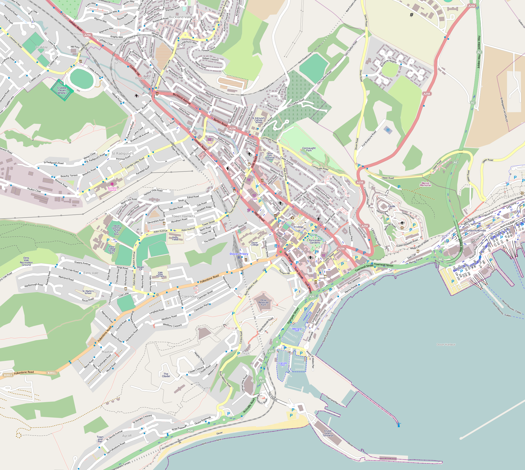 Map Of England Dover.File Location Map United Kingdom Dover Central Png Wikimedia Commons