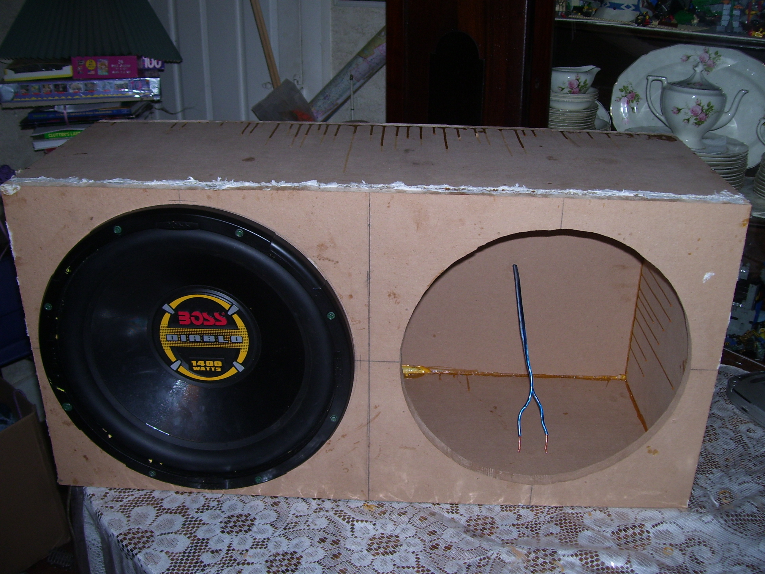 Homemade Subwoofer Box 15 Images