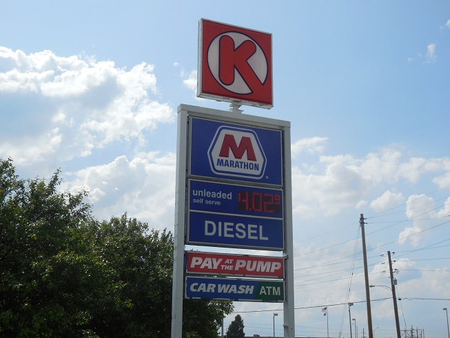 Marathon Gas Station Sign