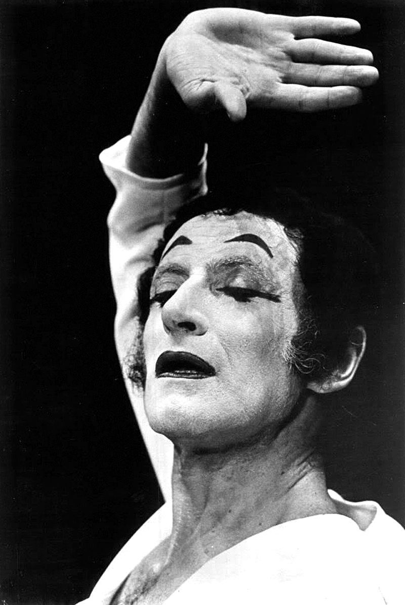 Portrait of Marcel Marceau