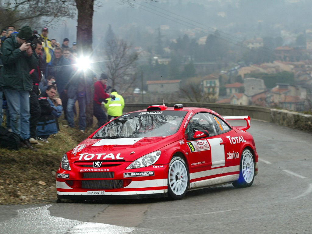 Monte Carlo Rally Wikipedia 1968 Chevy Marcus Grnholm Driving A Peugeot 307 Wrc On The 2004