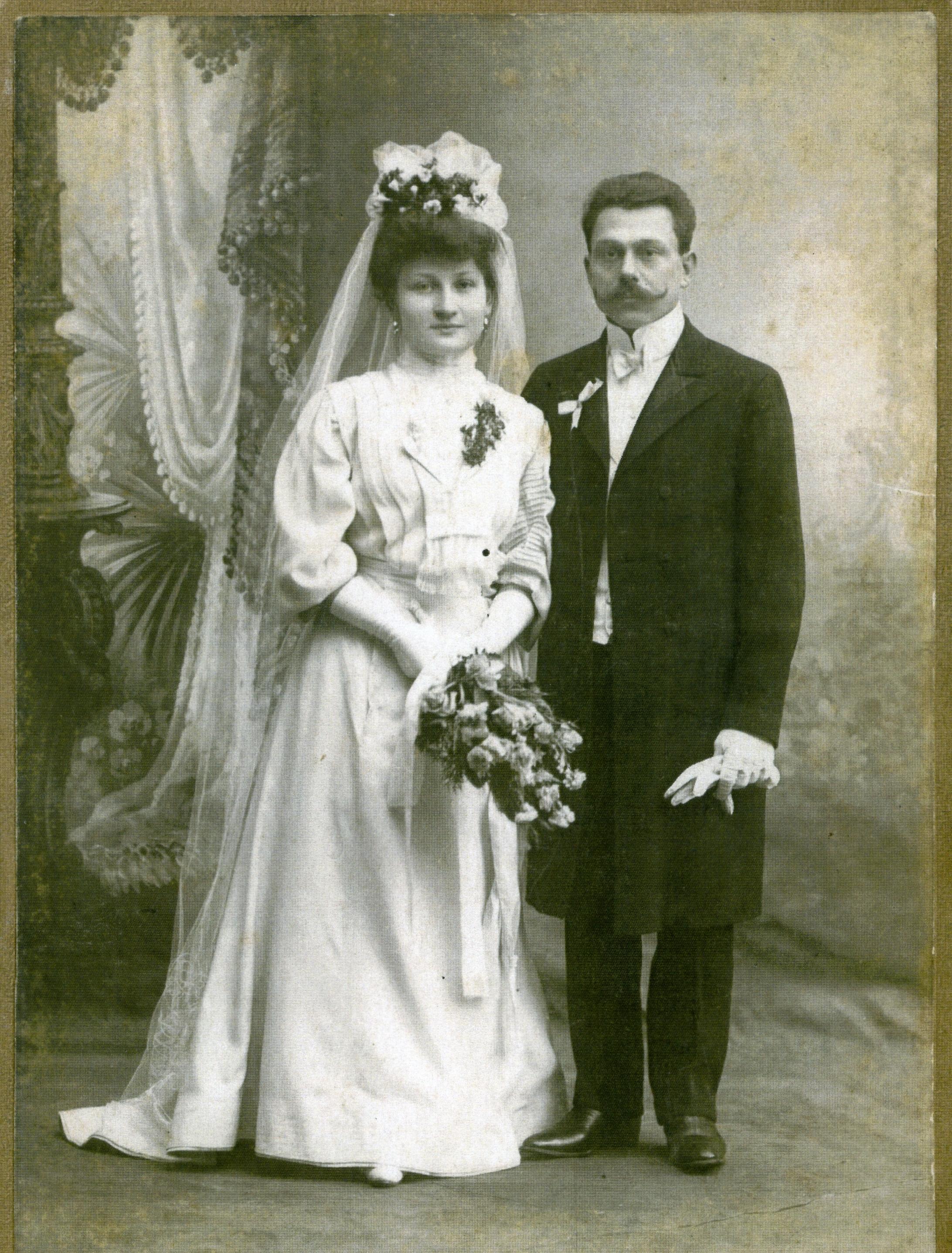 Filemaria Z D Brzozowska I Stanisław Krzemińscy Zdjęcie ślubne